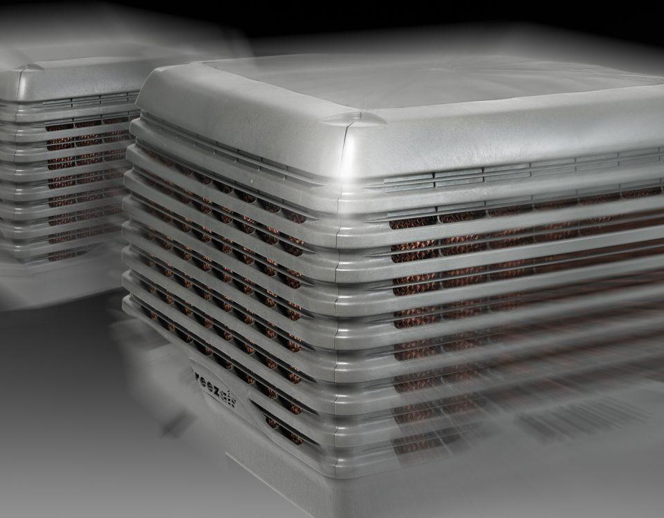Sfondo raffrescatori evaporativi tba500